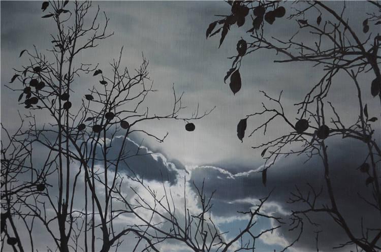 《曙光》 馬瑞雪  油畫