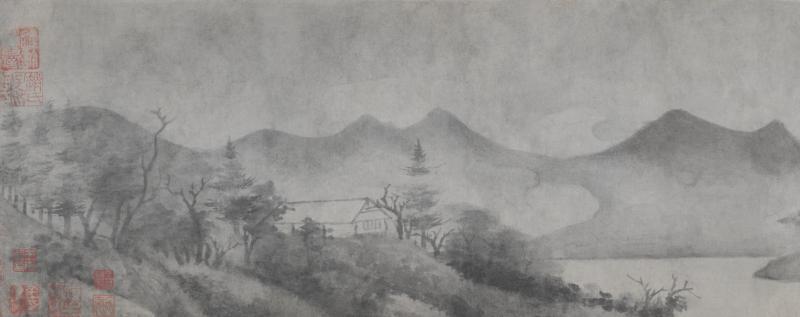 米友仁《瀟湘奇觀圖卷》 北京故宮博物院藏