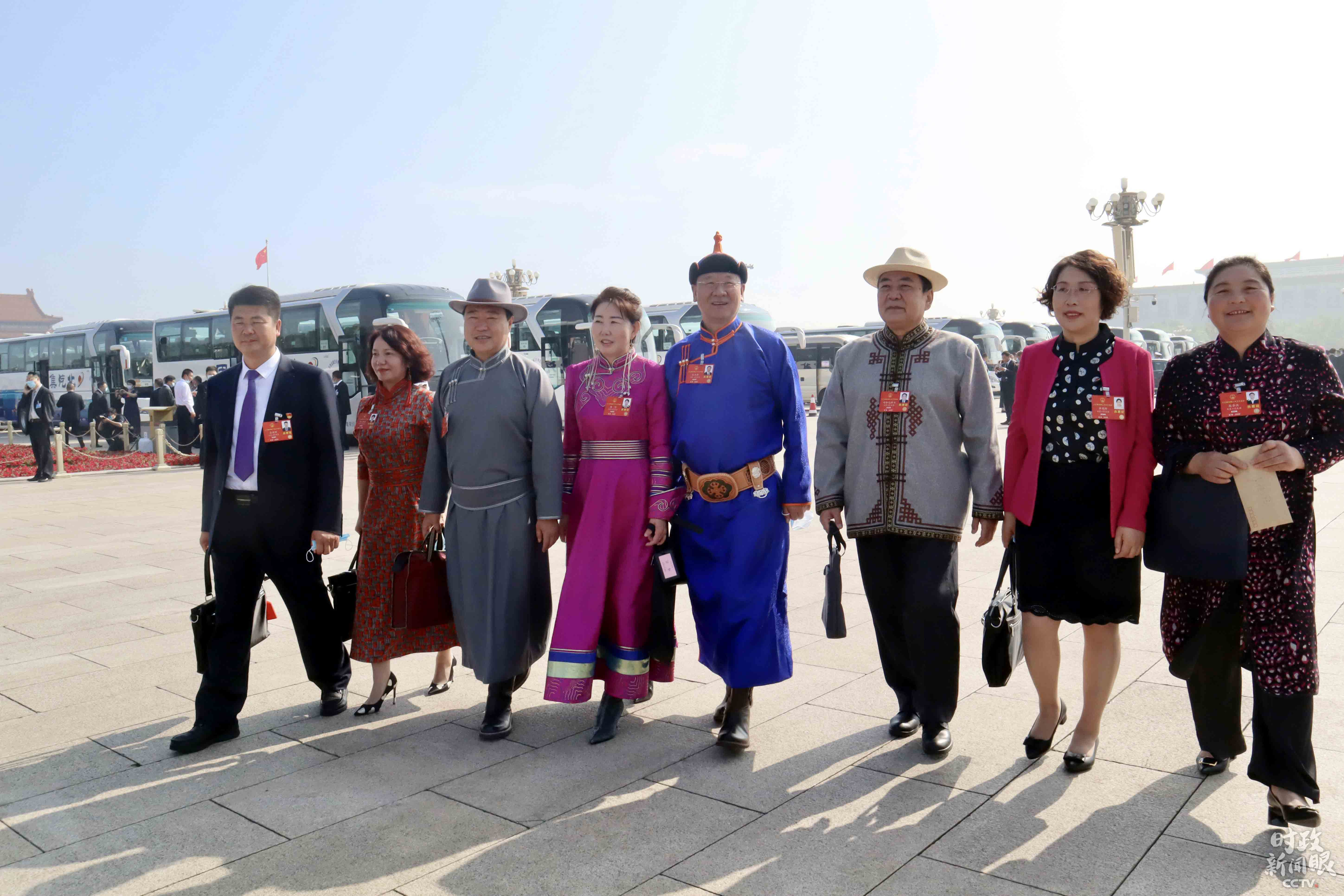 内蒙古团代表。