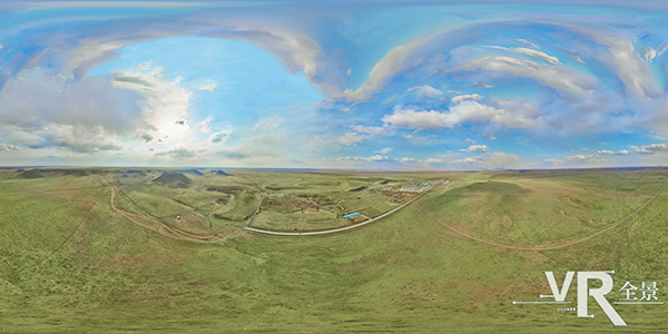 內蒙古錫林郭勒草原全景