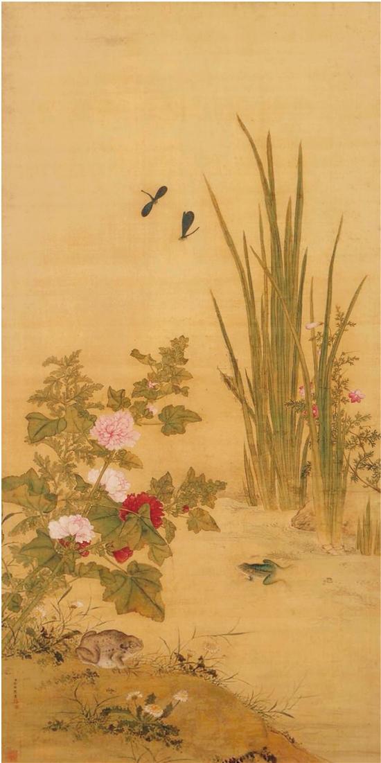 清 余樨 端陽景圖 137.3×68.8cm 北京故宮博物院藏