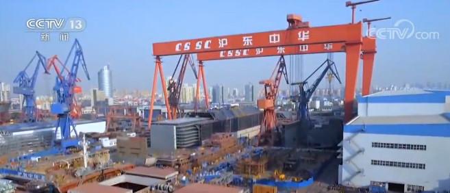 全球造船业三大指标公布 中国继续保持世界第一