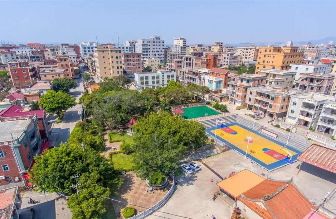 晋江一乡村的村容村貌