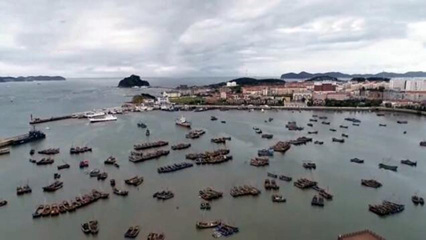 """台风""""巴威""""登陆朝鲜强度减弱  我国东北大部受影响"""