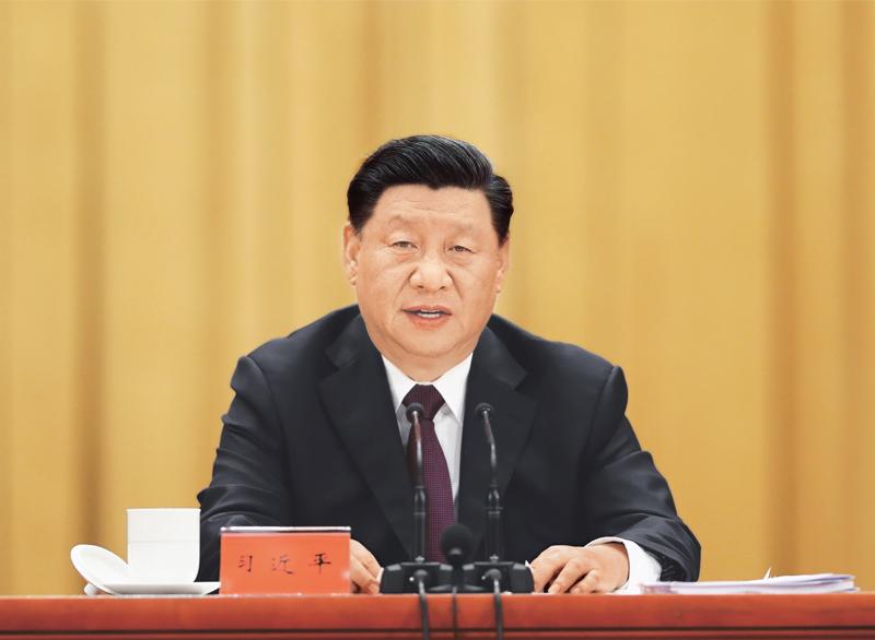 2020年9月8日,全国抗击新冠肺炎疫情表彰大会在北京人民大会堂隆重举行。中共中央总书记、国家主席、中央军委主席习近平在大会上发表重要讲话。 新华社记者 姚大伟/摄