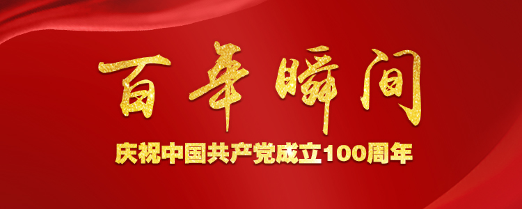 百年瞬间——庆祝中国共产党成立100周年