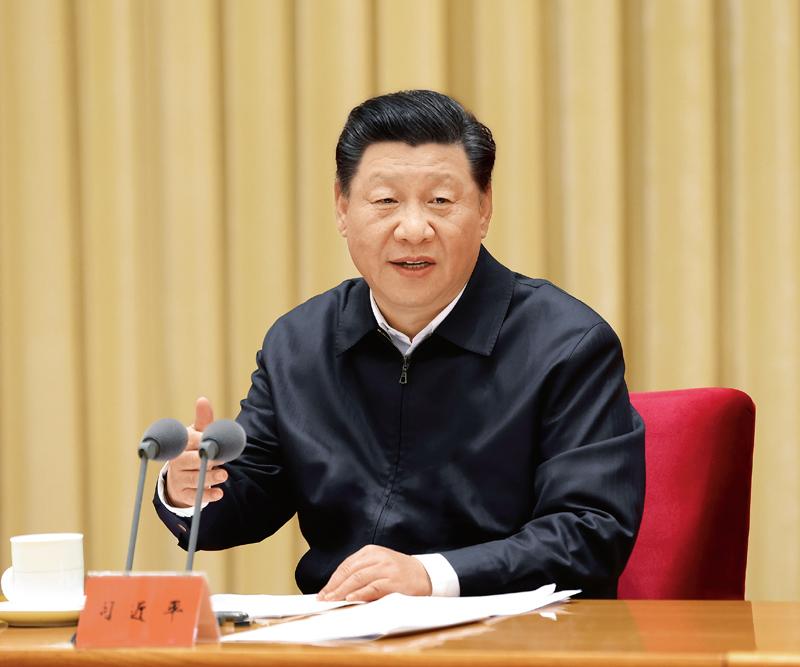 2020年11月16日至17日,中央全面依法治国工作会议在北京召开。中共中央总书记、国家主席、中央军委主席习近平出席会议并发表重要讲话。 新华社记者 庞兴雷/摄
