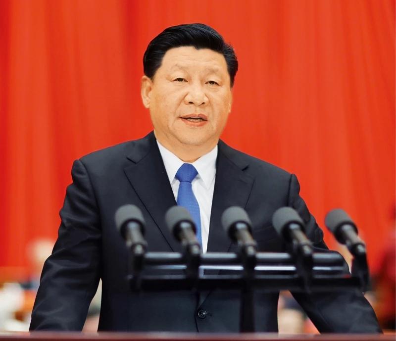 2018年5月28日,中国科学院第十九次院士大会、中国工程院第十四次院士大会在北京人民大会堂隆重开幕。中共中央总书记、国家主席、中央军委主席习近平出席会议并发表重要讲话。 新华社记者 鞠鹏/摄