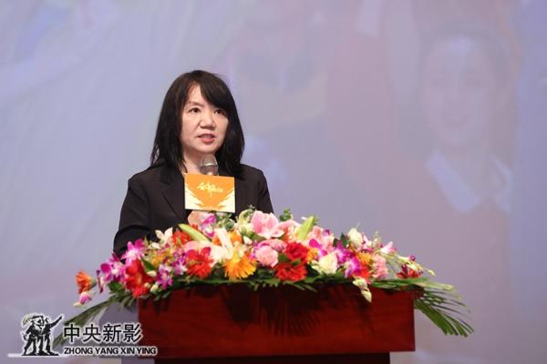 中央新影集團黨委書記、董事長姜海清