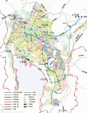 昆明地铁获增126.5公里