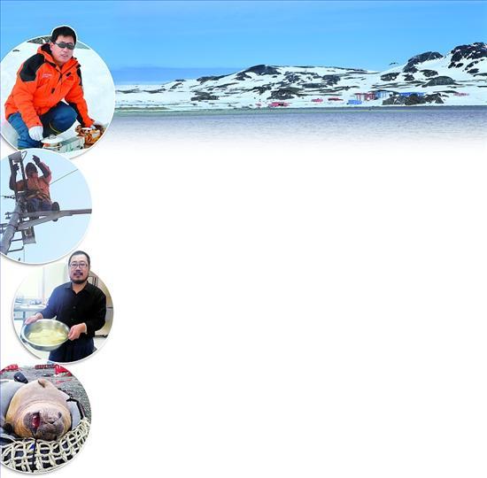 本报记者连线中国第29次南极科考队唯一河北队员刘志刚   我在南极测风云   郭 伟   这里是中国南极长城站,请拨分机号。9月1日13点,嘟一声响后,电话里传来句不合时宜的招呼声:晚上好!   家里是中午吧,我这里是凌晨1点。几分钟前,第29次南极科学考察队员、青龙满族自治县气象局副局长刘志刚,刚从冰天雪地里深一脚浅一脚地爬回宿舍,完成这一时段的气象监测工作。此刻,石家庄艳阳高照,暑热未退,南极长城站却银装素裹、寒气迫人,正值隆冬时节。   2012年11月30日,作为第29