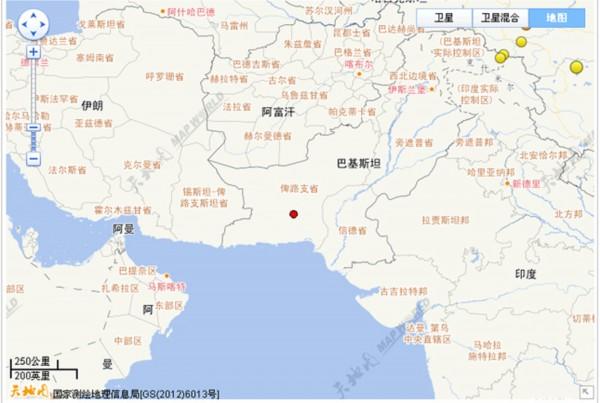 8级地震震源位置图