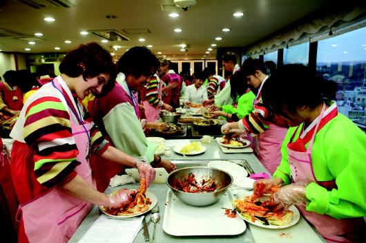 付玉婷   每年12月是韩国传统的冬季
