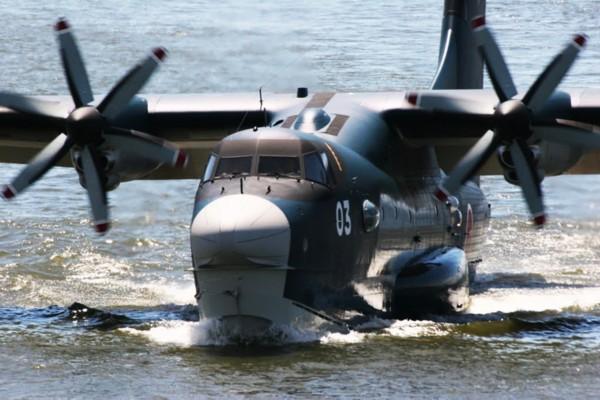 高清:中国力压日本 制造当今世界最大水陆两用飞机