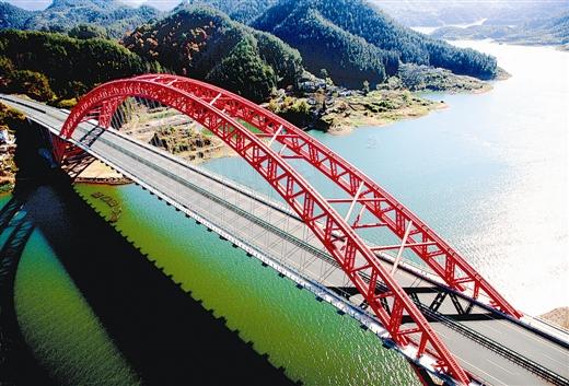 钢管混凝土拱桥