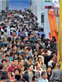 2011年9月4日,为期5天的首届中国-亚欧博览会进入到第四天。当日,进馆参观人数超10万人次,迎来开展以来市民参观的最高峰。