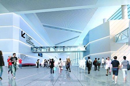 悦来重庆国际博览中心内部效果图