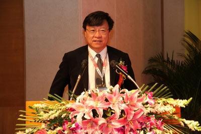 高文院士作为学术顾问代表发表讲话
