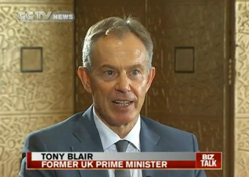 Biz Talk 10/08/07 Tony Blair, Former UK Prime Minister: From Britain's great hope to a divisive figure
