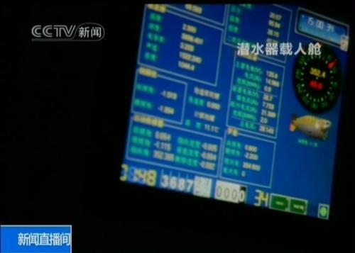 "Thedomesticallydesignedandmanufactured""Jiaolong""submersiblehascompletedasuccessfultrialoperation,divingtodepthsof3,700meters,andworkingunderwaterforover9hours."