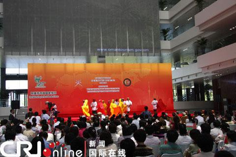 Oman celebrates its National Pavilion Day on Thursday at the Shanghai World Expo.