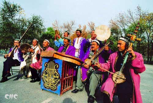 Muqam is defined as a musical mode and set of melodic formula used to guide improvisation and composition.