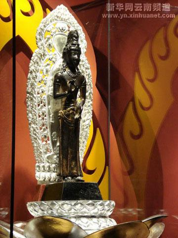 "It is the earliest guanyin statue found in Yunnan Province, and is honored as the ""mascot of Yunnan."""