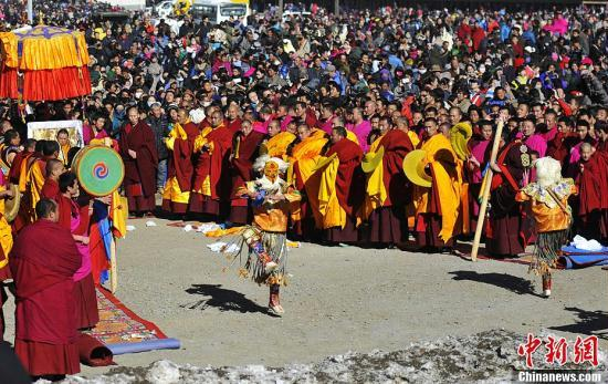 Buddhist New Year Tibetan Buddhism festival