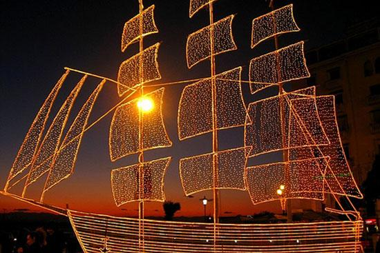 Christmas boat tradition makes a comeback in Greece CCTV News ...