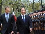 Wen Jiabao : les relations sino-polonaises à un niveau plus élevé