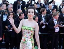 Festival du film de Cannes 2012 - Interview de Fan Bingbing