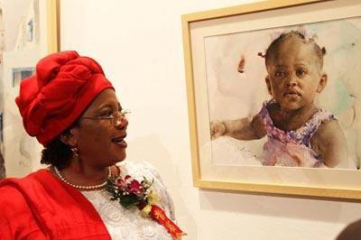 Chine:expositionssurlacultureafricaine
