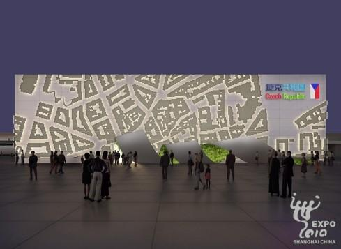 "Under the theme of ""Fruits of Civilization"", the pavilion showcases a virtual city, with a spotlight on new technologies."