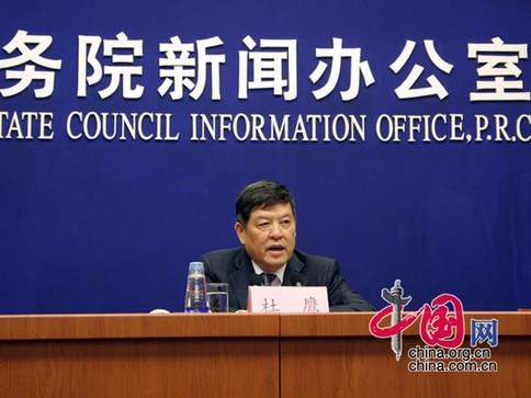 Du Ying, the vice minister of National Development and Reform Commission.