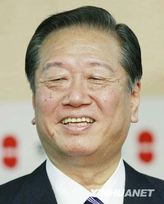 The Democratic Party of Japan's power broker, Ichiro Ozawa, has announced he will challenge Prime Minister Naoto Kan in a party leadership vote next month.(File Photo)