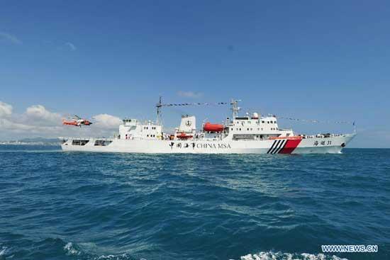 china sends ships to patrol s china sea cctv news cntv english china sends patrol ships to islands held by japan 550x367