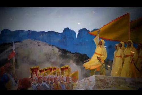 三维动画镜头将历史史实艺术呈现