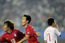 Chinese men´s soccer eliminated by R.O.K.