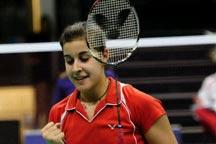BWF world championships: Marin cruises into round two