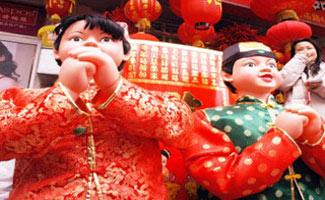 Традиционный китайский праздник Весны - Чуньцзе