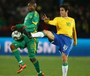 6月26日 约翰内斯堡 巴西1:0南非<br>全场回放