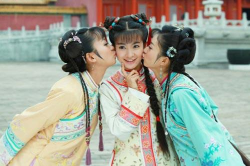 新版《还珠格格》中饰演小燕子、紫薇、金锁的3位演员-新 还珠格格