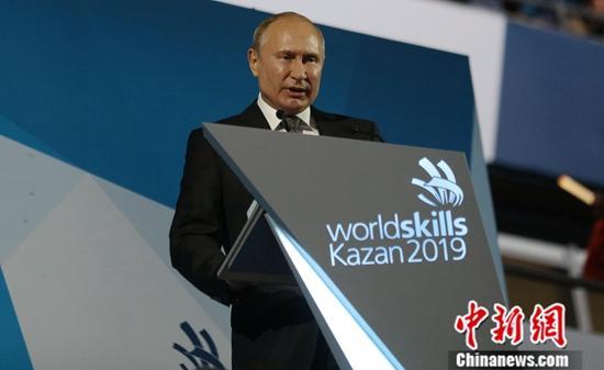 """""""资料图:俄总统普京。<a"""