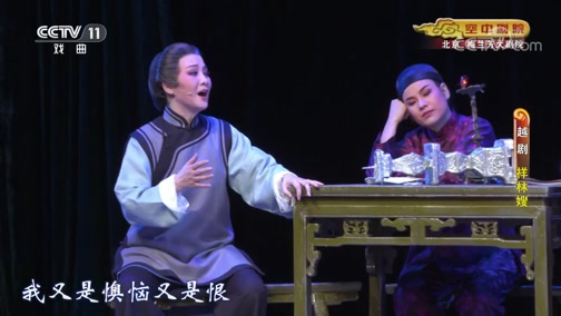 [CCTV空中剧院]越剧《祥林嫂》 第十场