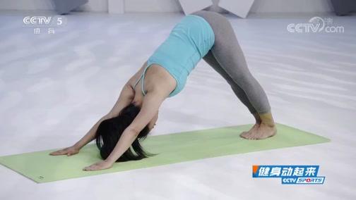 [健身动起来]陈超琪带来瑜伽体式:拜日式练习