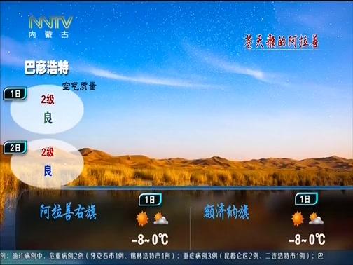 [内蒙古新闻联播]内蒙古天气预报 20200131