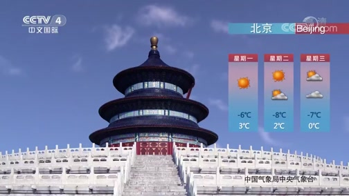 [中国新闻]2020年02月03日天气预报