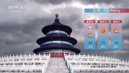 [中国新闻]2020年02月06日天气预报