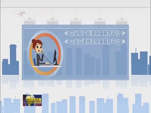 [吉林新闻联播]省工信厅:搭建八平台一热线 助力企业复工复产