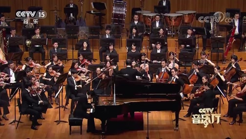 [CCTV音乐厅]《黄河》钢琴协奏曲 第三乐章 钢琴:孙颖迪 指挥:张国勇 协奏:国家大剧院管弦乐团